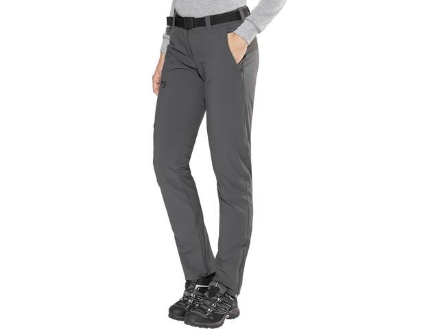 Maier Sports Inara Slim Pantalon Femme, graphite